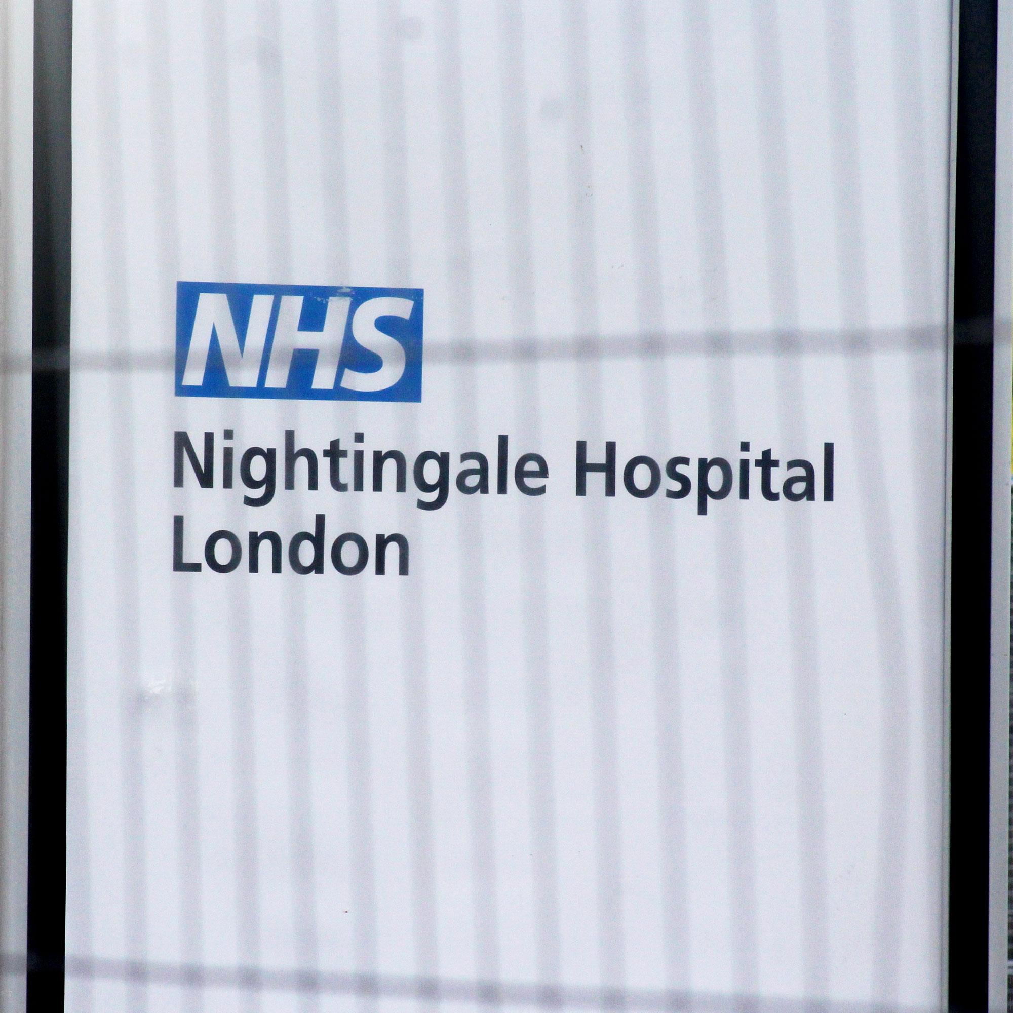NHS Nightingale Hospital